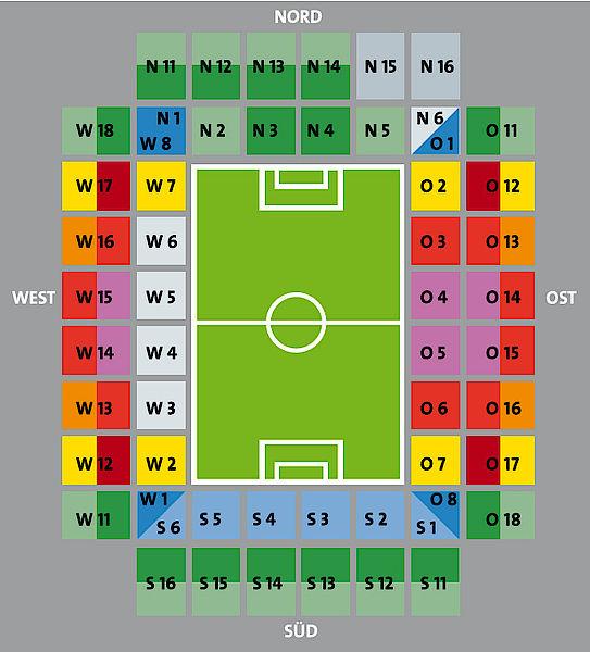 Stadionplan Fc Köln